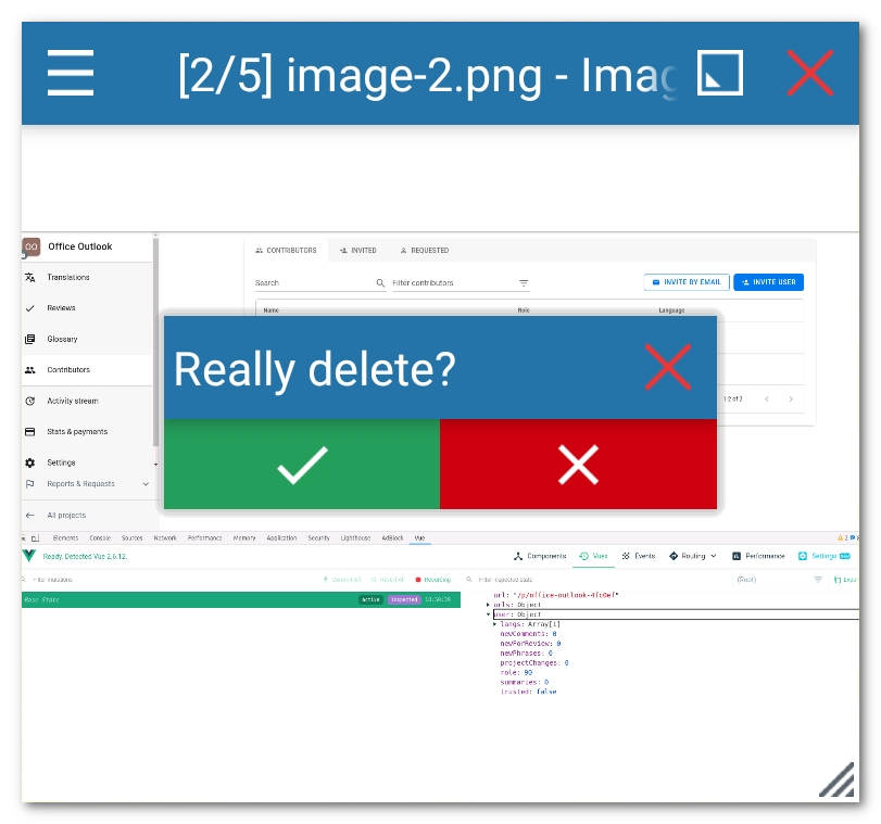 Dialog in Floating Apps